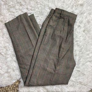 Vintage Rafaella Wool Plaid Pants 10